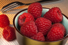 Fruit - Raspberries Royalty Free Stock Photography