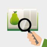 Fruit recipe book Stock Images
