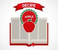 Fruit recipe book Stock Image