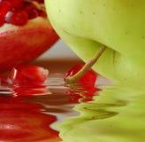 Fruit reflection Royalty Free Stock Photos