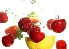 Fruit refreshing Royalty Free Stock Photos