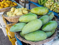 Fruit in the retail market Royalty Free Stock Photo