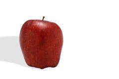 Fruit rouge d'Apple d'isolement Photo libre de droits