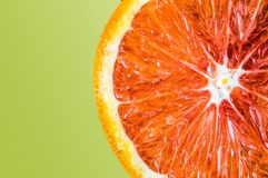 Fruit rouge d'orange sanguine Photographie stock