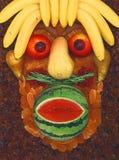 Fruit?s Gesicht Stockbild