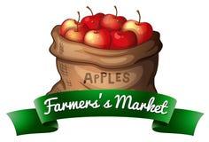 Fruit in sack Stock Image