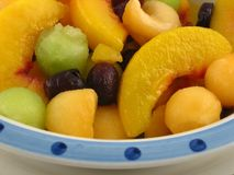 Fruit salad. On bowl Stock Photography
