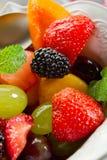 Fruit salad on bowl Royalty Free Stock Photo