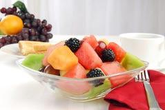 Fruit salad breakfast Stock Image