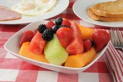 Fruit salad breakfast Stock Images