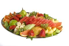 Fruit Salad Catering Platter Stock Image