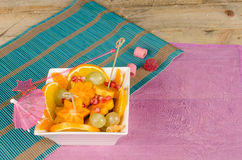 Fruit salad for children Royalty Free Stock Photography