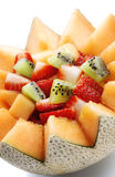 Fruit salad Close-up Stock Images