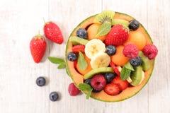 Fruit salad. Close up on fruit salad Stock Image