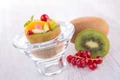 Fruit salad creative Stock Image