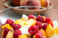Fruit salad detail Royalty Free Stock Photos