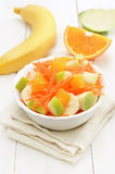 Fruit salad and fresh fruits Royalty Free Stock Photography