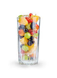 Fruit salad in a glass Royalty Free Stock Images
