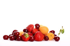 Fruit salad ingredients Royalty Free Stock Image
