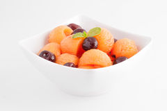 Fruit salad isolated Royalty Free Stock Image