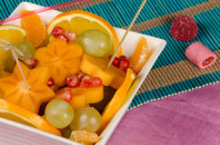 Fruit salad for kids Stock Image