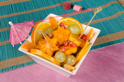Fruit salad for kids Stock Photos