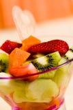 Fruit Salad with kiwi,strawberry,papaya Royalty Free Stock Photography