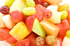 Fruit Salad Macro Background royalty free stock image
