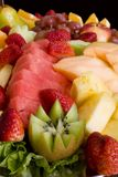 Fruit Salad Platter Royalty Free Stock Photo