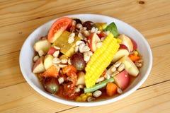 Fruit salad thai style Stock Photos