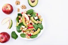 Fruit salad, top view Stock Image