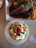 fruit salade Royalty-vrije Stock Foto's