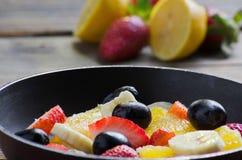 fruit salade stock afbeeldingen