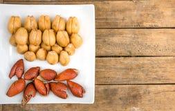Fruit Salak Fruit Shell Casing. Of Rayong, Thailand Stock Photo