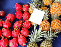 Fruit sale in market Royalty Free Stock Photography