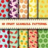 Fruit sans joint Image libre de droits