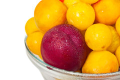 Fruit saucer Stock Photography