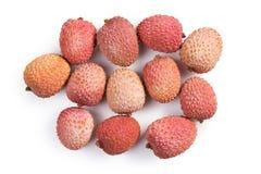 Fruit savoureux de litchi Photographie stock