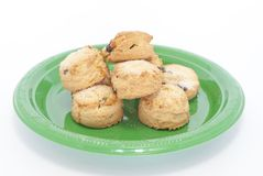 Fruit Scones Royalty Free Stock Images