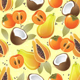 Fruit seamless Royalty Free Stock Photography