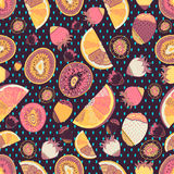Fruit seamless abstract Pattern Royalty Free Stock Images