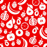 Fruit seamless background Royalty Free Stock Photos