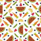 Fruit Seamless Background Royalty Free Stock Photography