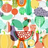 Fruit Seamless Background Stock Photo