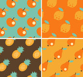 Fruit Seamless Royalty Free Stock Images