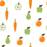 Fruit Seamless Pattern Royalty Free Stock Image