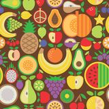 Fruit Seamless Pattern Royalty Free Stock Photo