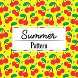 Fruit Seamless Pattern Collection stock illustration