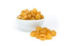 Fruit sec de longan Image libre de droits
