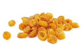 Fruit sec de Longan sur le blanc Image stock